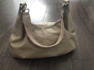 BOGNER Handtasche beige-rosa NEUWERTIG Nylon