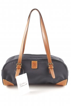 Bogner Handtasche dunkelblau-hellbraun sportlicher Stil