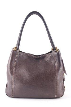 Bogner Handtasche dunkelbraun Elegant