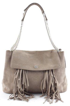 Bogner Handtasche graubraun Elegant