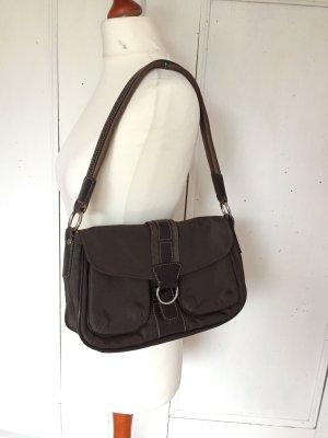 Bogner Handtasche Schultertasche braun Leder