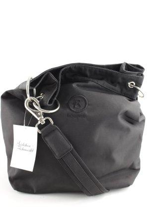 Bogner Handtasche schwarz schlichter Stil
