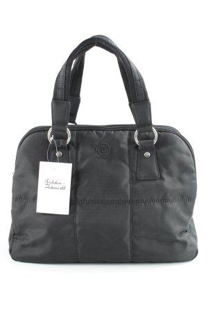 Bogner Handtasche schwarz Steppmuster Metallelemente