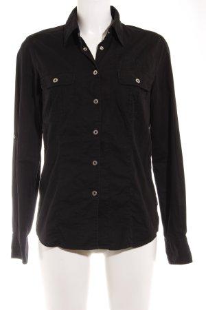 Bogner Hemdblouse zwart prints met een thema zakelijke stijl
