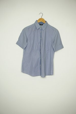 Bogner Short Sleeve Shirt white-neon blue
