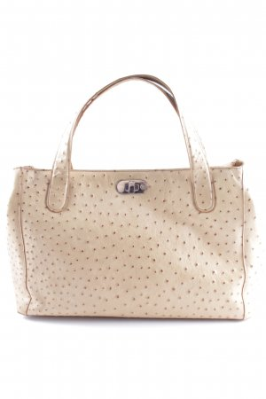 Bogner Carry Bag beige-brown embossed logo