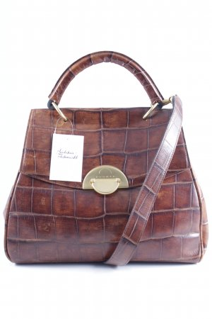 Bogner Carry Bag brown-gold-colored street-fashion look