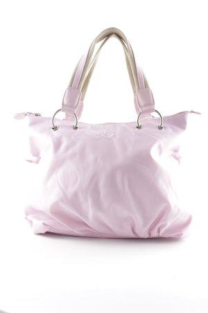Bogner Henkeltasche rosa-beige Casual-Look