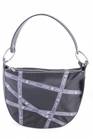 Bogner Bolso barrel negro-gris look casual