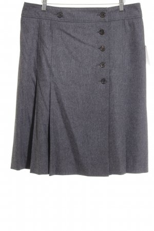 Bogner High Waist Rock grau Elegant