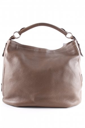 Bogner Bolsa Hobo marrón claro-color plata look casual
