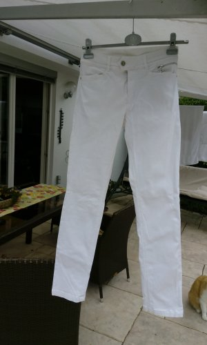 Bogner Jeans Stretch Trousers white