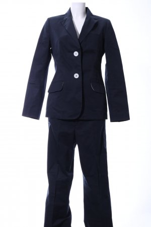 Bogner Trouser Suit blue business style