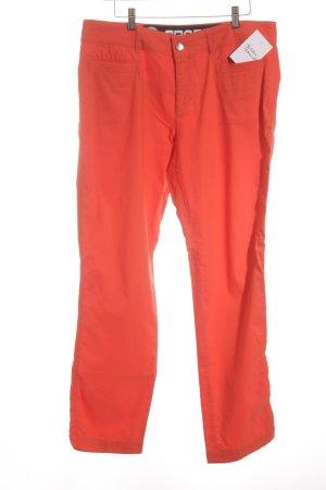 Bogner Low-Rise Trousers neon orange casual look