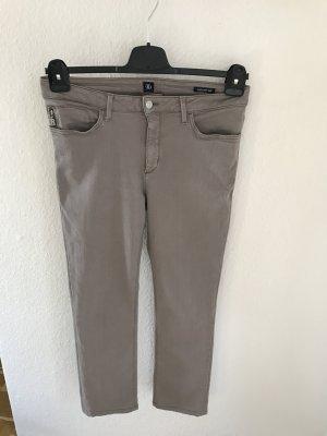 Bogner Jeans in beige mit Stretchanteil