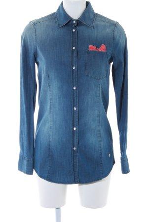 Bogner Jeans Jeanshemd stahlblau Casual-Look