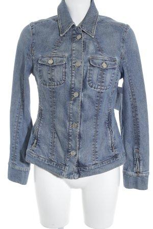 Bogner Jeans Jeansjacke blau Casual-Look