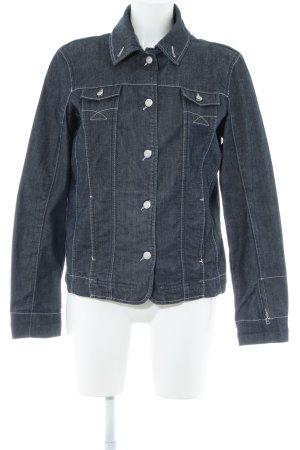 Bogner Jeans Veste en jean bleu style décontracté