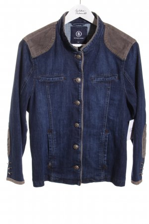 Bogner Jeans Jeansjacke blau-grau Casual-Look