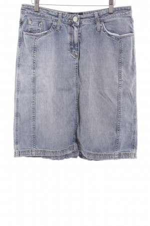 Bogner Jeans Jeansrock kornblumenblau Jeans-Optik