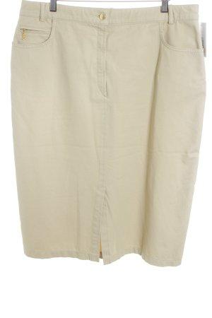 Bogner Jeans Jeansrock sandbraun Casual-Look