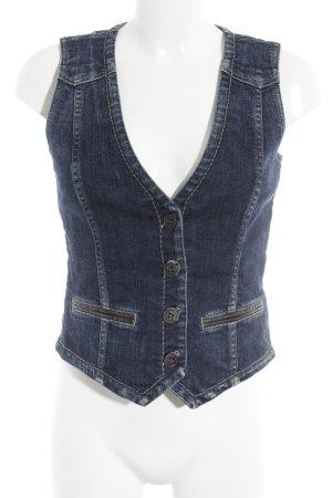 Bogner Jeans Jeansweste dunkelblau-graublau Casual-Look