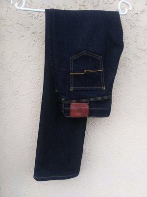 Bogner Jeans Boot Cut Jeans dark blue-blue