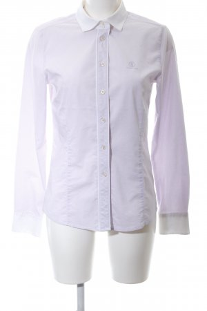 Bogner Jeans Long Sleeve Shirt white-lilac allover print casual look
