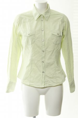 Bogner Jeans Long Sleeve Shirt lime-green casual look
