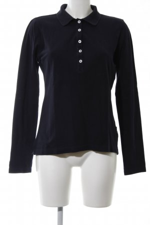 Bogner Jeans Polo-Shirt schwarz Casual-Look
