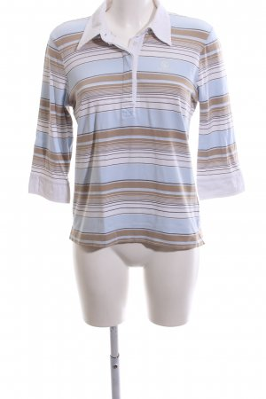 Bogner Jeans Polo Shirt striped pattern casual look