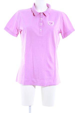 Bogner Jeans Polo rosa stile casual