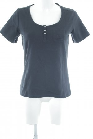 Bogner Jeans Polo-Shirt schwarz Casual-Look