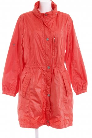 Bogner Jeans Manteau de pluie orange fluo style décontracté