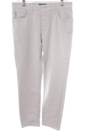 Bogner Jeans Pantalon cigarette gris clair style décontracté