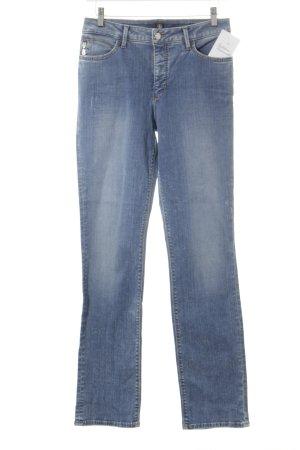 Bogner Jeans Jeans slim bleu-blanc cassé style délavé