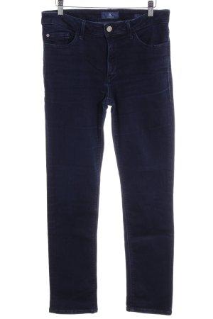 Bogner Jeans Slim Jeans dunkelblau Jeans-Optik
