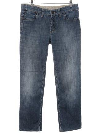 Bogner Jeans Jeans coupe-droite bleu acier style décontracté