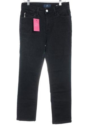 Bogner Jeans Stretch Jeans schwarz Casual-Look