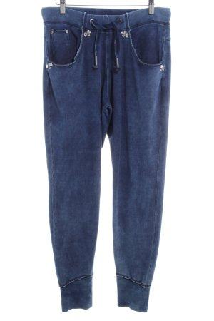 Bogner Jeans Pantalon de jogging bleu acier style décontracté