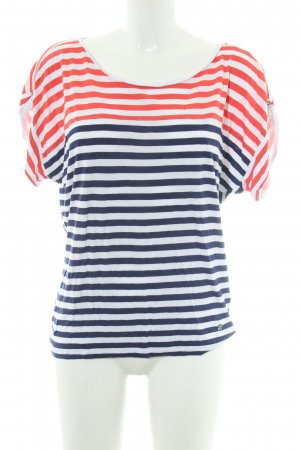 Bogner Jeans T-Shirt Streifenmuster Casual-Look