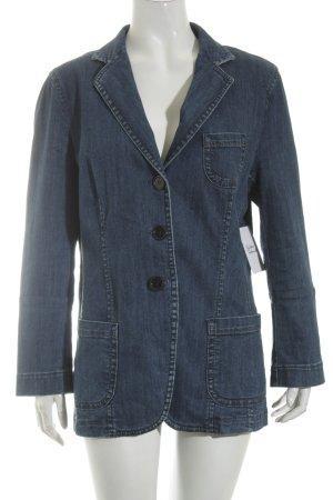 Bogner Blazer en jean bleu foncé Aspect de jeans
