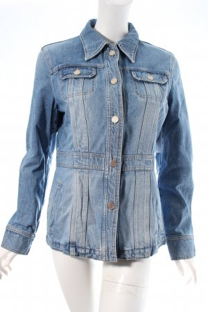 Bogner Jeansjacke blau Used-Optik