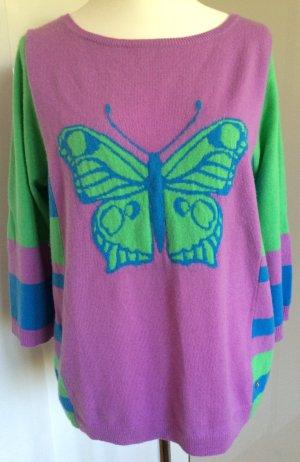 Bogner Kaschmirpullover Schmetterling Gr 44
