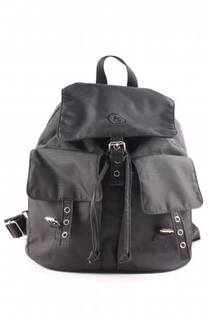 Bogner Kindergarden Backpack black casual look