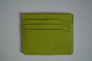 Bogner Kreditkartenetui Leder neu, grün