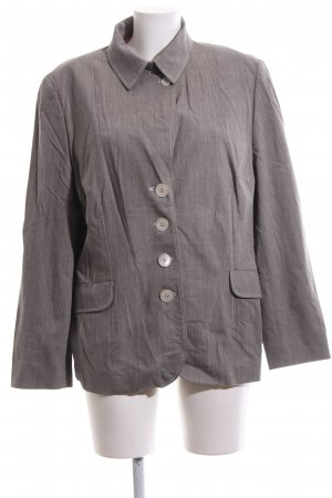 Bogner Short Blazer light grey weave pattern casual look
