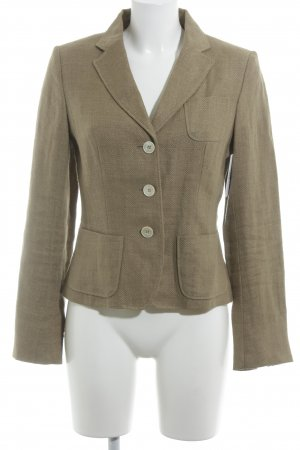 Bogner Kurz-Blazer hellbraun Business-Look