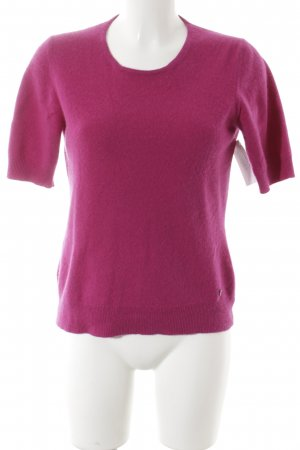Bogner Short Sleeve Sweater violet casual look