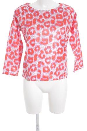 Bogner Langarm-Bluse abstraktes Muster extravaganter Stil